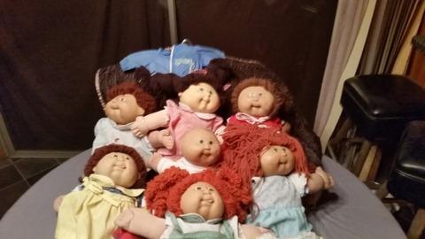 1980's Vintage Cabbage Patch Dolls