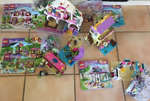 Lego Friends and Elves sets
