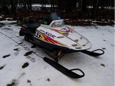 Polaris XCR 600 Snowmobile